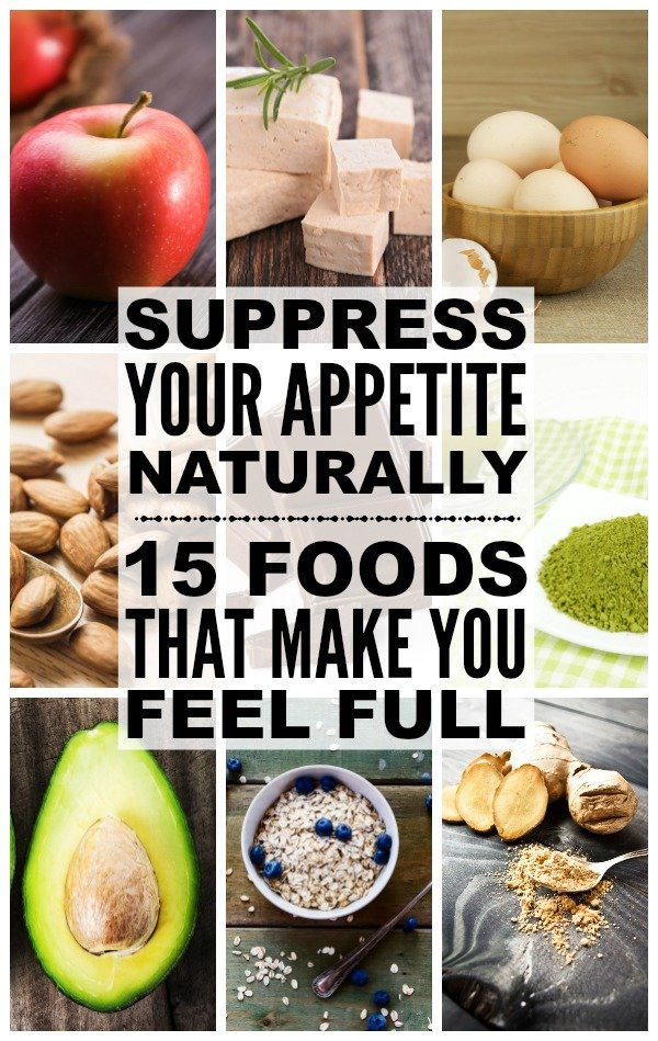 Trying to lose weight without pills or a strict diet plan, but feel hungry all day long? We have you covered! We've put together a comprehensive list of foods and drinks that act as natural appetite suppressants to help you feel full longer. Weight loss never tasted so good!