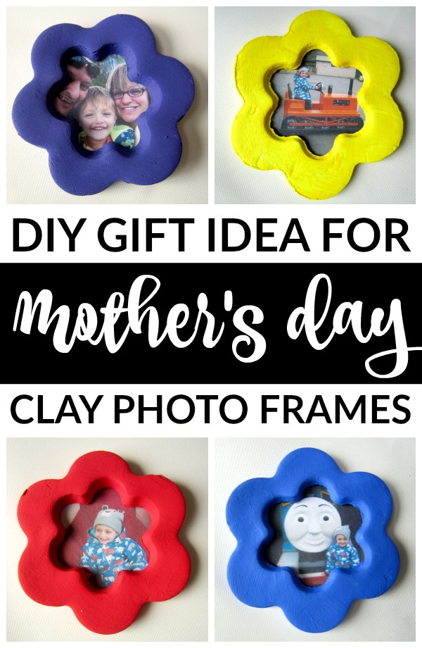 Diy Mother S Day Gifts Clay Flower Photo Frame