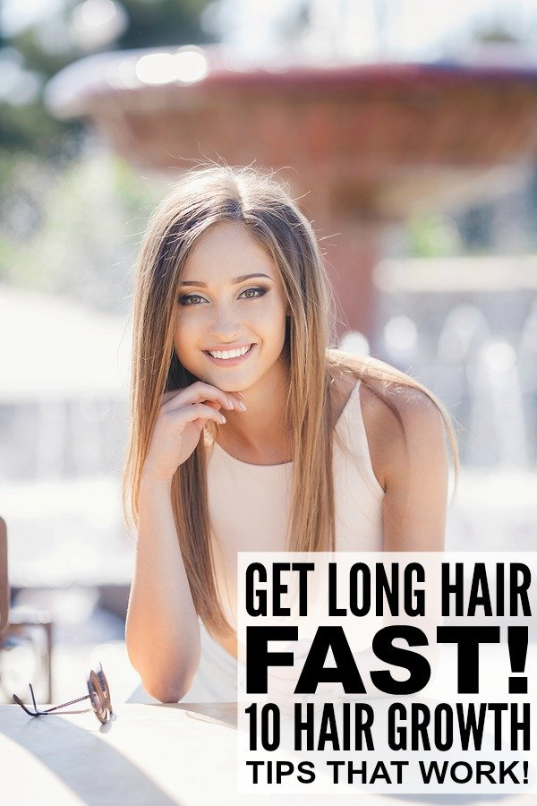 How To Make Your Hair Grow Faster 10 Hair Hacks That Work