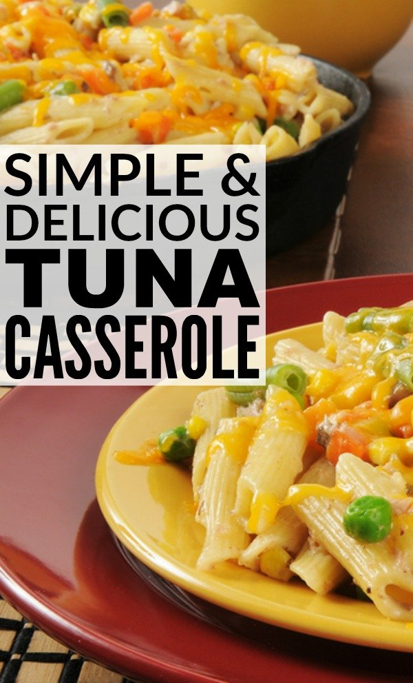 This simple tuna casserole recipe is my go-to meal on busy days when I need a family-friendly meal that is nutritious and filling, but my refrigerator is bare. I love how quick and easy it is to make, and that I can substitute different ingredients to appeal to different taste buds. It's a winner in my household!