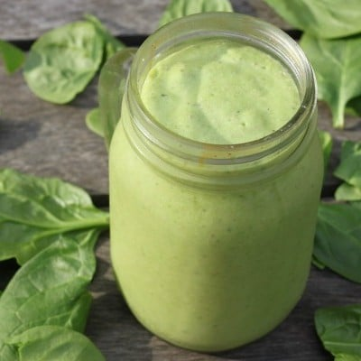 Tropical Green Smoothie Paradise Recipe