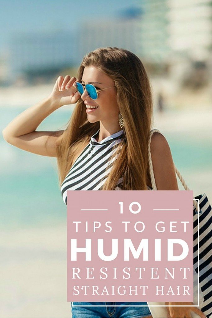 If you prefer to sport sleek, straight hair, but struggle with humidity hair like Monica from Friends, these anti-humidity tips and products will save you a TON of time in the mornings on hot, humid days.