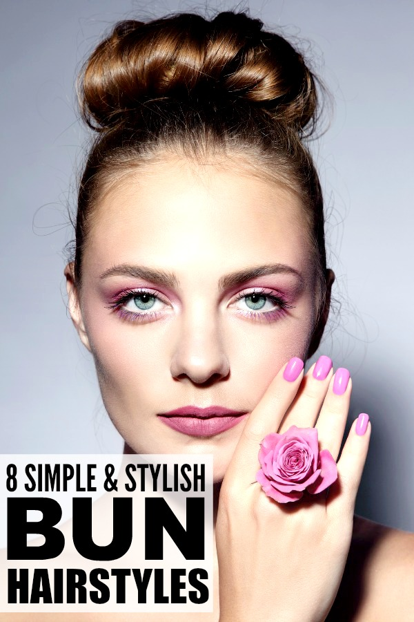 Incredible 8 Super Easy Bun Hairstyles For Busy Moms Short Hairstyles Gunalazisus