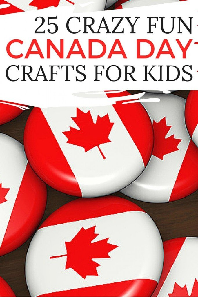 25 Crazy Fun Canada Day Crafts For Kids