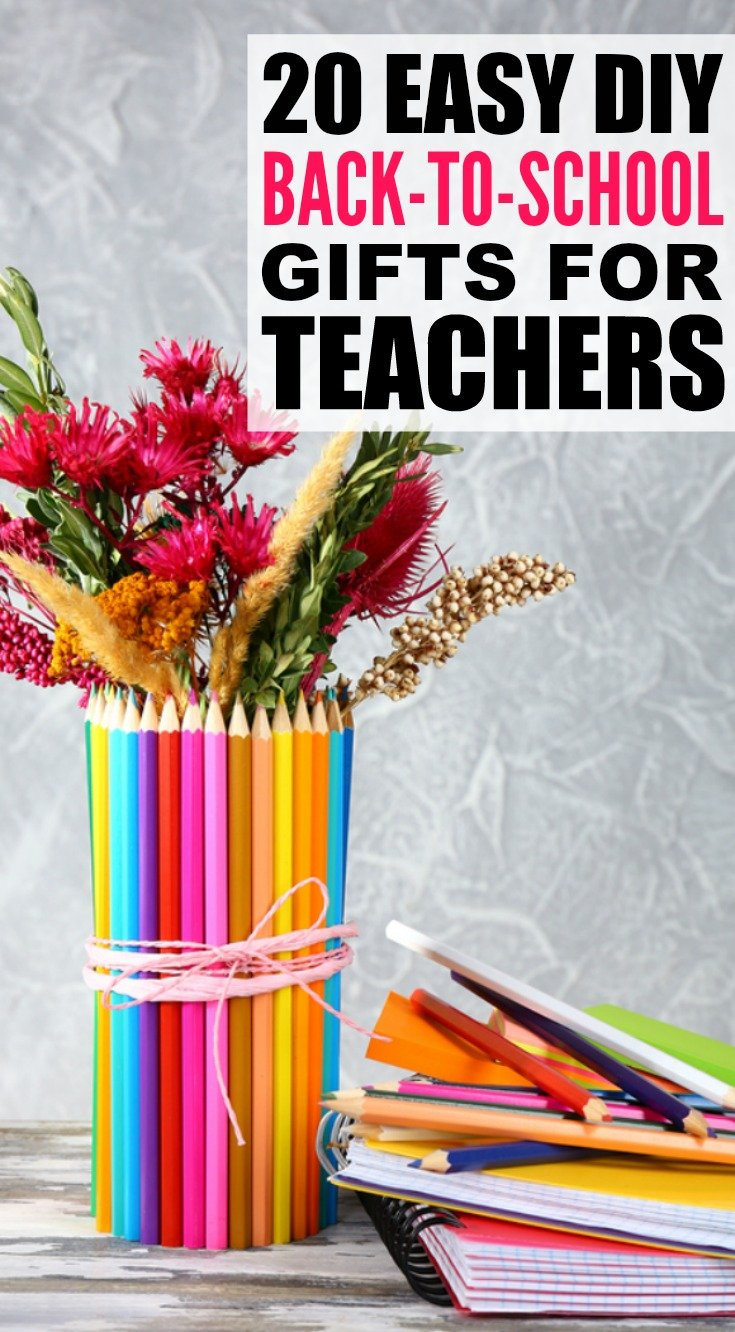 Back to school gifts for teachers 20 diy ideas we love for Back to school decoration ideas for teachers