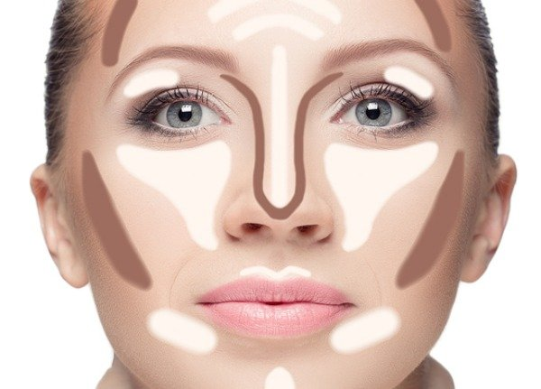 How to Contour a Round Face Step by Step