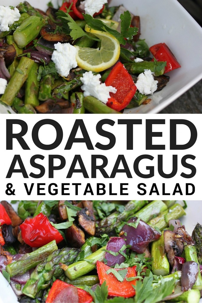 If you're looking for easy yet healthy summer meal ideas your whole family will enjoy, this Roasted Asparagus & Vegetable Salad is a must try. It can be a plant-based meal unto itself and also makes a killer side to any meat thrown on the BBQ. Enjoy!