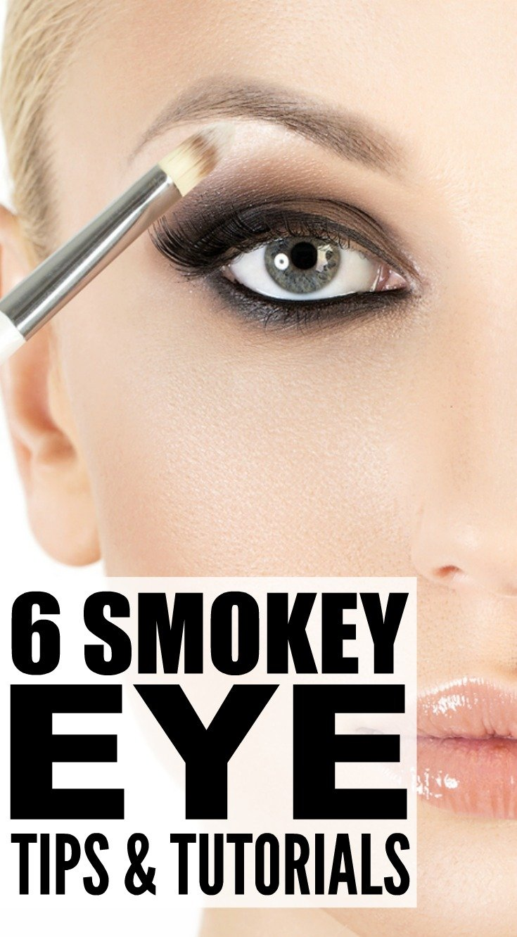 Smokey Eyeshadow Tutorial: 6 Smokey Eye Tutorials And Tips We Love