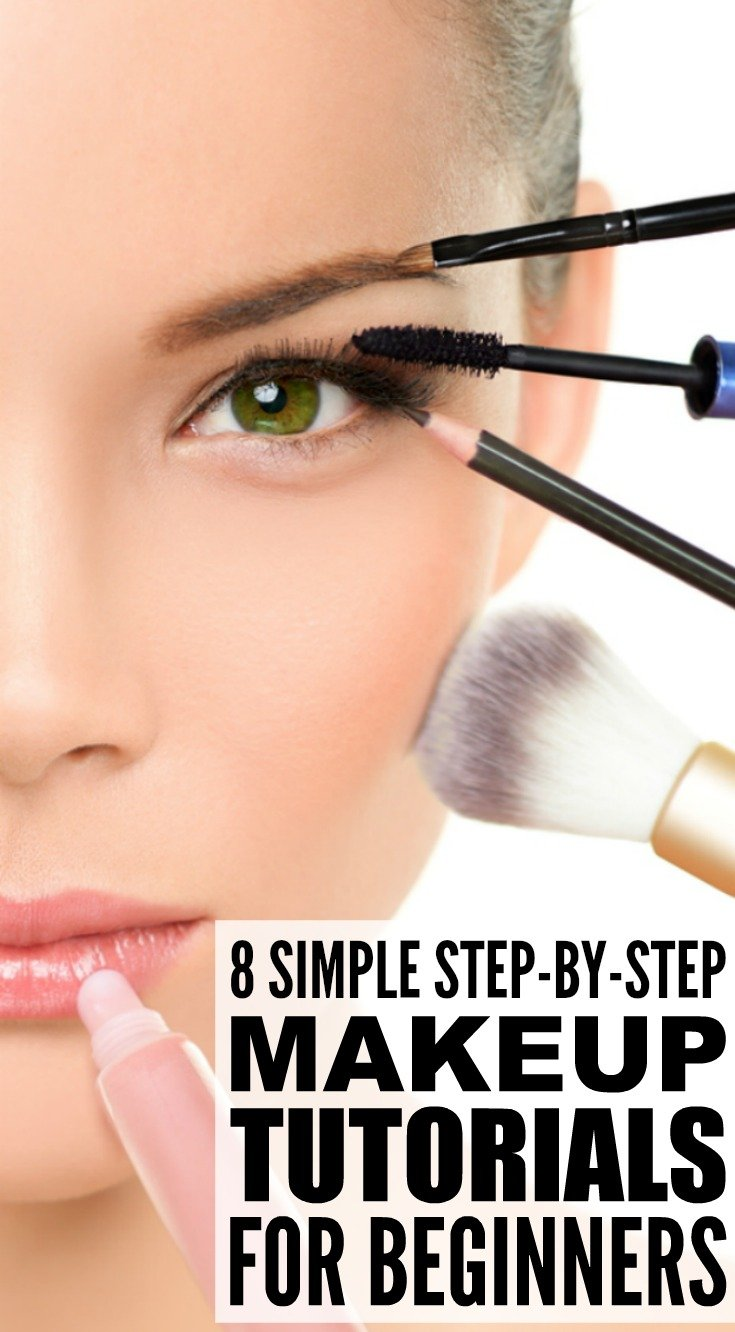 Basic Makeup Essentials For Teens: 8 Step-by-Step Makeup Tutorials For Beginners