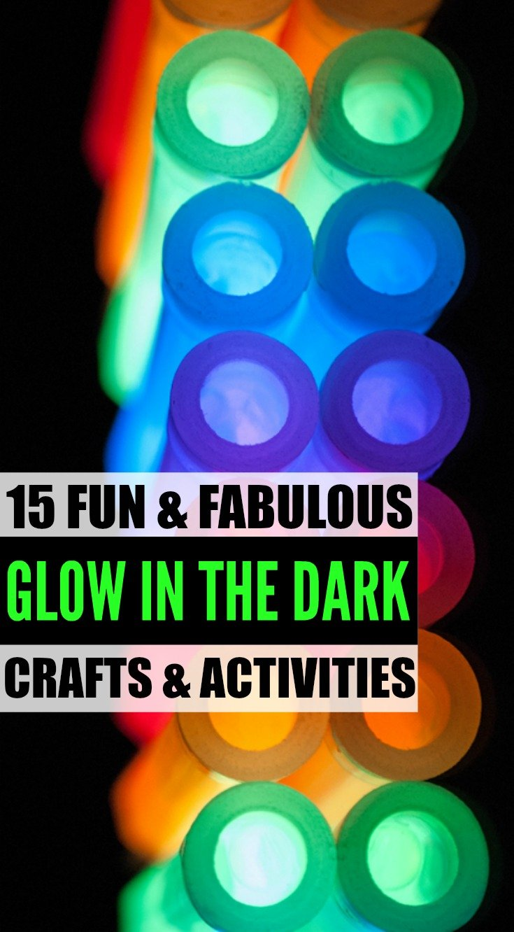 Glow in the dark crafts - Looking For Cool And Crazy Glow In The Dark Crafts And Activities For Kids Look
