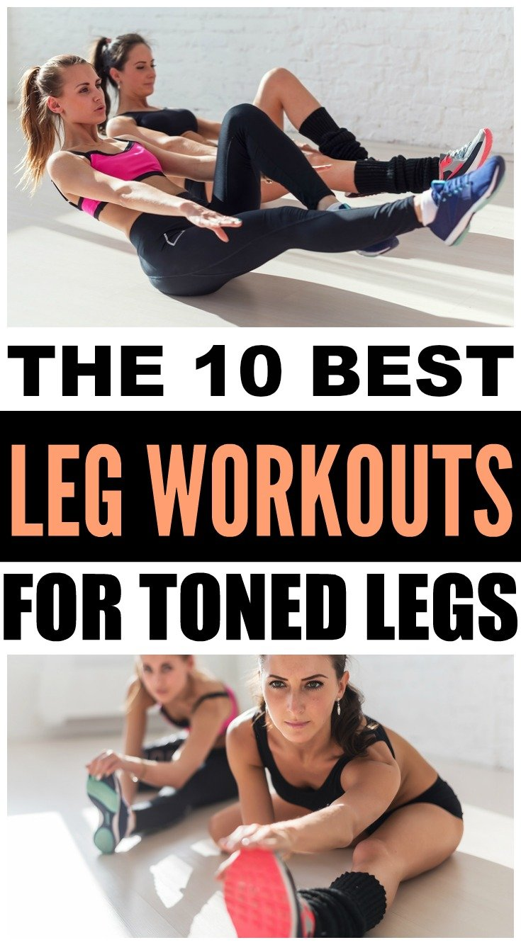 The best leg workouts exercises for sexy toned legs
