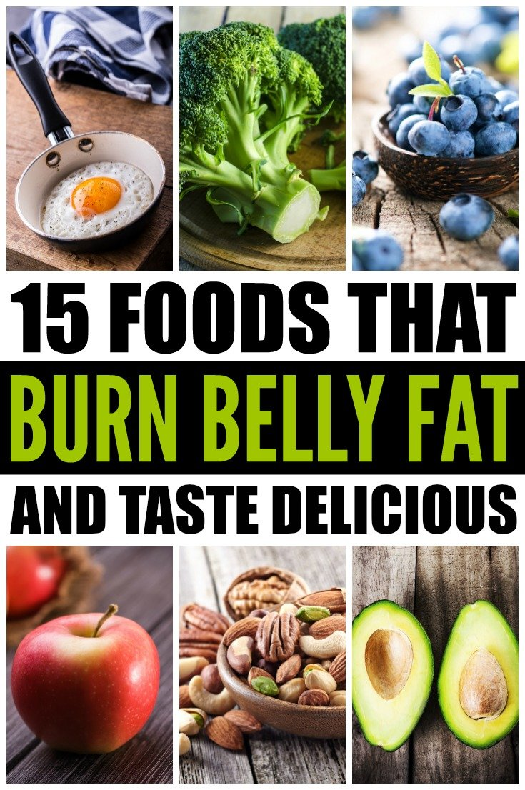 15 foods that burn belly fat