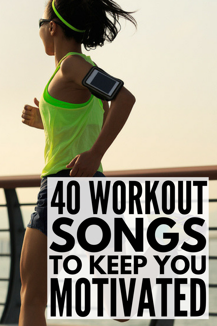 40 Upbeat Workout Songs to Get You Motivated! | Looking for the best motivational workout songs to add to your gym playlist? Great for running, cardio, HIIT, Zumba, and other fast-paced workouts, this list of upbeat workout songs will get your heart pumping for a full-body workout. We've even included a few slower tracks if you're looking to create a good 'weight loss for beginners' playlist, and these tunes also double as great weight lifting inspiration!