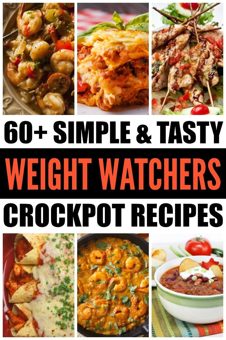 If you're looking for healthy, low carb meals to cook up this season, check out these 60+ Weight Watchers crockpot recipes. Easy and delicious, these recipes will help you enjoy your favorite comfort foods in a fraction of the time without the guilt. From chicken and beef to soups and appetizers, these simple slow cooker meals will keep you full and healthy this season, while also keeping your weight in check. Who can argue with that?