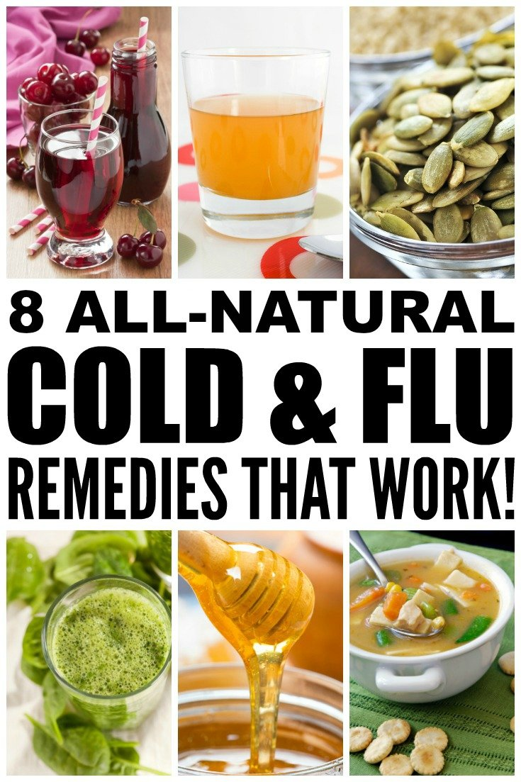 It's cold and flu season, which means your health should be at the front of your mind! These natural cold and flu remedies will help to boost your immune system, kill bacteria, and eliminate your symptoms. From raw honey and lemon tea to coconut oil and chicken soup, these DIY remedies are sure to get you back to your healthy self! Number 4 surprised me!