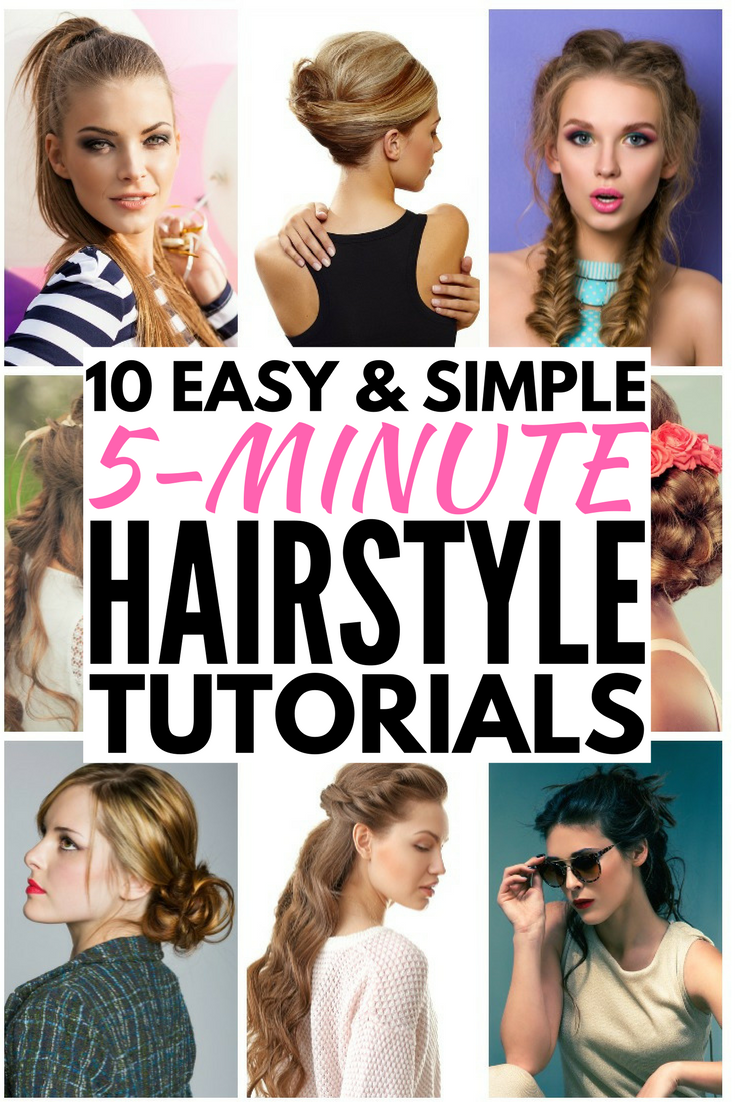 10 Everyday Hairstyles for Long Hair (in Under 5 Minutes!) | Meraki Lane