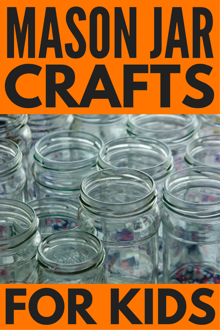 Looking for easy DIY mason jar crafts for kids to keep your children busy on bad weather days? We've got you covered. Whether you're looking for crafts specifically for Halloween, Christmas, Easter, Valentine's Day, or Mother's day, need ideas for summer, fall, winter, or spring activities, or just want to do something different with your kids (think: DIY night lights, glitter, and glow-in-the-dark fun!), we've rounded up 18 activities for kids you and your little ones will love!