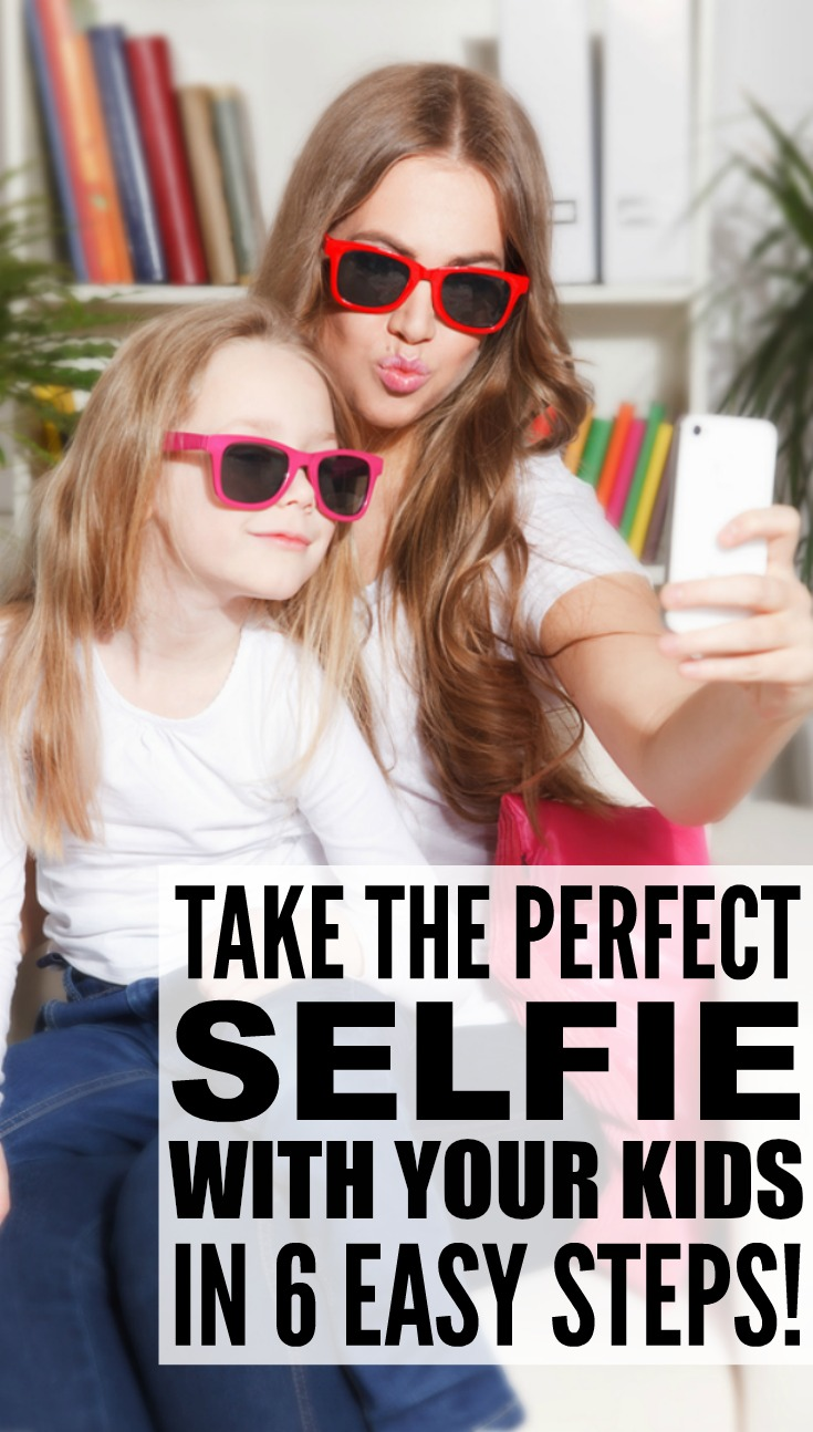 Want to know how to take the perfect selfie with your kids? We've got you covered. We're sharing 6 of our best tips to help you turn your iPhone around and be part of your child's life as you document their journey from birth to adulthood. Whether you're posting to Instagram, sharing on Facebook, or just collecting memories digitally, these ideas will inspire you to capture all that life has to offer!