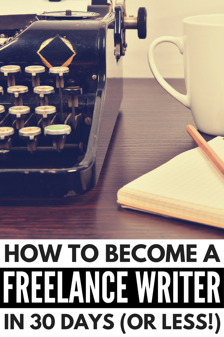 writing for profit how to become a lance writer in 30 days want to know how to become a lance writer we ve rounded up all