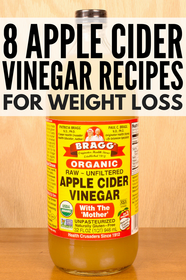Recipe For Apple Cider Vinegar Drink For Weight Loss