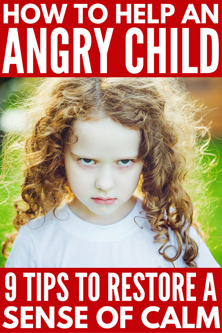 Looking for tips to calm an angry child and restore a sense of calm? From sensory hacks to anger management ideas, we're sharing 9 effective parenting tips that work. These coping skills will not only teach you how to help an angry child, but they will also teach you how to deal with your little one's big emotions to prevent future outbursts.