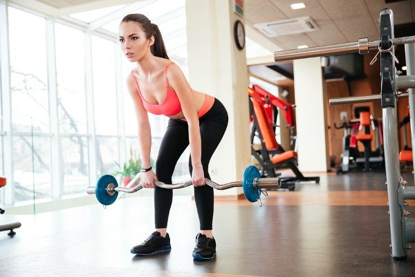 Barbell Workout Program For Women 6 Exercises To Tighten And Tone