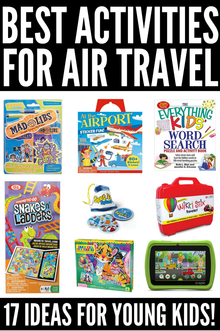 Looking for the best travel activities for kids to keep your little ones occupied on long car rides and during international airplane travel? Look no further! We've got 21 awesome ideas to keep them entertained. Whether you're traveling with toddlers, preschoolers, kindergarteners, or school-aged kids, these toys offer the perfect distraction for children when they're confined to small spaces like cars and planes. We've even included a couple of DIY busy bags you can make for cheap!