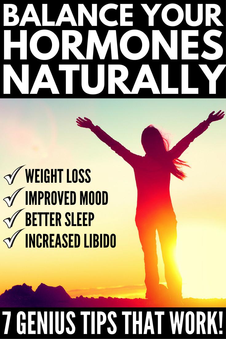 Best Ways To Balance Your Hormones Naturally