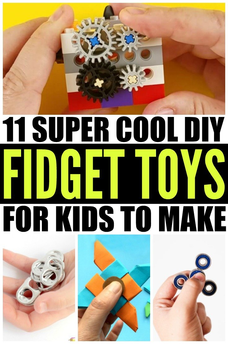 Fidget toys – more specifically, fidget spinners – are all the rage these days, inspiring kids and adults everywhere to figure out how to make a fidget toy themselves. Whether you're looking for DIY ideas for kids or for teens, big hands or small hands, to help with stress, ADHD, anxiety, autism, or sensory processing disorder, or just to get creative juices flowing with students in the classroom, this collection of DIY fidget toys will NOT disappoint!