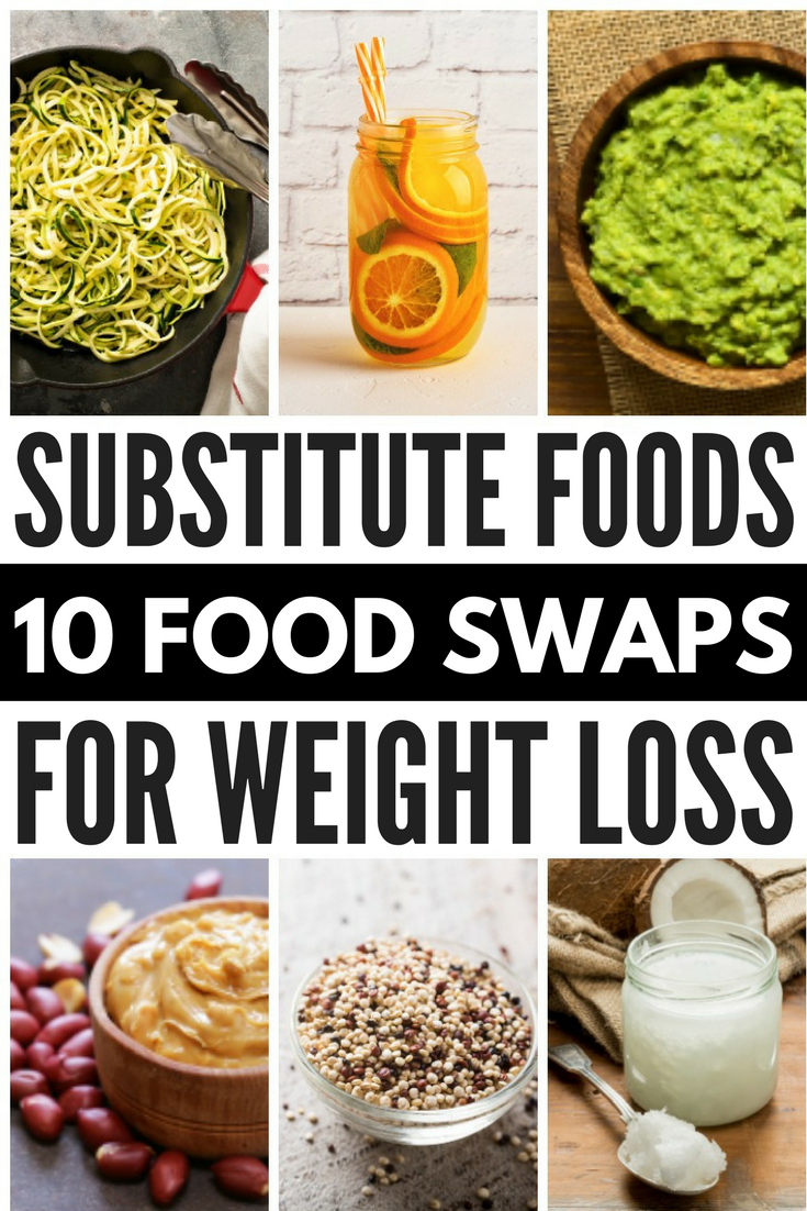Looking for healthy food swaps to help with your clean eating goals? Look no further! We've got 10 simple yet effective ideas to take your diet to the next level and help you lose weight fast. From white rice, pasta, and cream cheese to sour cream, eggs, and ice cream, we're sharing the best healthy food substitutes to boost your energy and help you reach your weight loss goals without feeling deprived.