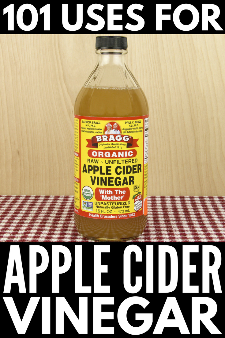 101 apple cider vinegar uses | While apple cider vinegar and weight loss is a hot topic these days, few people realize there are ACV remedies for pretty much everything. It's good for skin, for hair, for dandruff, for feet, for acne, for yeast infections, for PMS relief, and for cleaning, it's a great morning sickness remedy, it can boost energy levels, and YES! it's good for weight loss. Check out 101 ACV benefits for a happier, healthier, skinnier you!