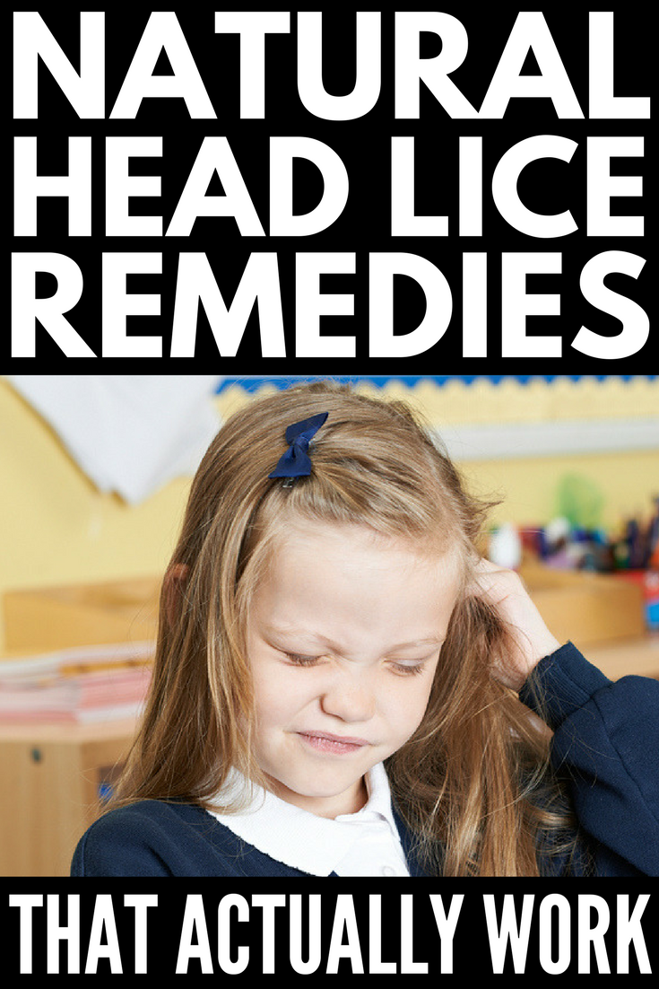 Natural Remedies For Head Lice That Actually Work! | Want to know how to get rid of head lice once and for all?! While there are heaps of natural DIY options out there using household products like Listerine, coconut and tea tree oil, mayonnaise, coke, vinegar, salt, and apple cider vinegar, most of these are only mildly effective. We're sharing the ONE natural remedy you need to know about, as well as other helpful tips and tricks to help prevent lice from occurring in the first place!