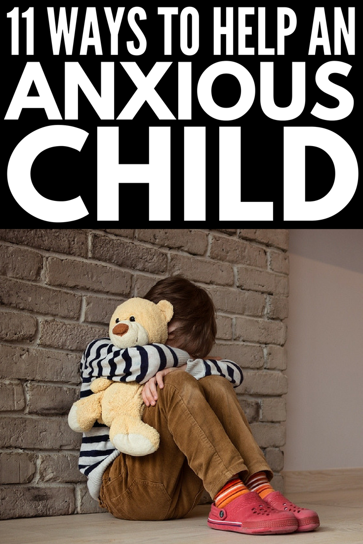 Anxiety in Children: 12 meaningful ways to calm an anxious child | Raising an anxious child? Looking for anxiety relief for kids? Perfect for parenting and school, these anxiety truths will give you ideas to help understand your child's feelings and come up with effective stress management tips to help her cope with life. We've also included 13 relaxing activities for kids!