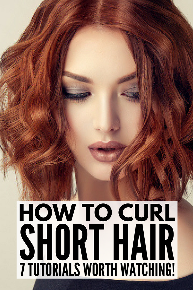 How To Curl Short Hair 7 Techniques And All The Products