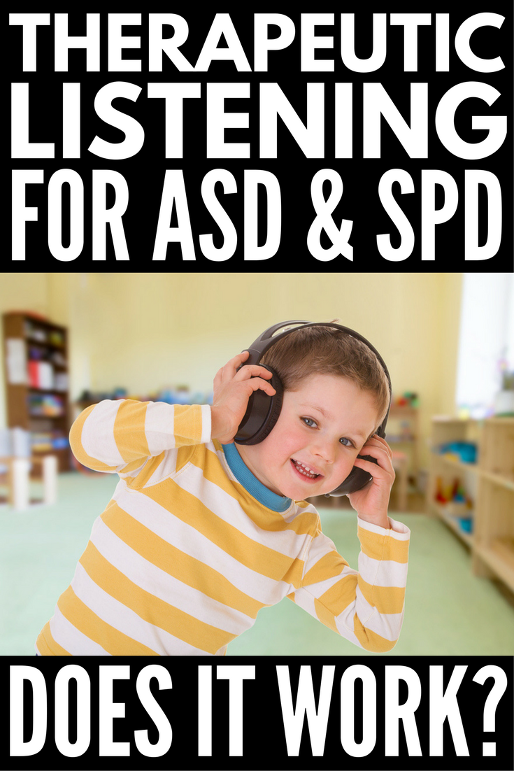 Therapeutic Listening for Autism & Sensory Processing Disorder | If you're looking for autism and sensory processing therapy ideas, the Therapeutic Listening Program might be for you. Used in occupational therapy, this is an at-home treatment parents can perform to help improve a child's attention, self-regulation, communication and social skills, posture, and fine and gross motor skills. Click for our personal experience - the pros, cons, and gains we've enjoyed!