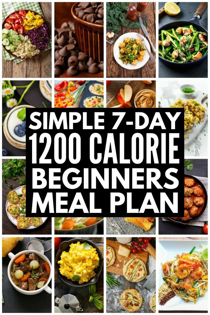 Low Carb 1200 Calorie Diet Plan