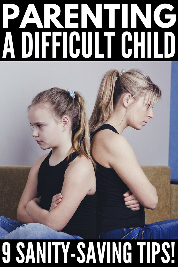 How to Deal with a Difficult Child | Raising a strong-willed child can leave even the most patient mom and teacher feeling frazzled. That's why we're sharing 9 of our best parenting tips for raising difficult children and avoiding power struggles, which work both at home and in the classroom. We've even included some of our favorite articles to teach you how to be a more patient parent.