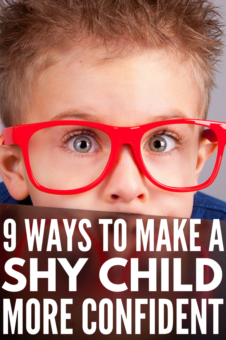 How to Make a Shy Child More Confident | Helping and teaching a child to overcome their shyness and social anxiety isn't easy, but we have 9 tips you can implement TODAY to help build your child's self-esteem and confidence. From self-care for kids to understanding the importance of positive affirmations for kids to teaching social skills to encouraging independence through age-appropriate chores, you don't want to miss this!