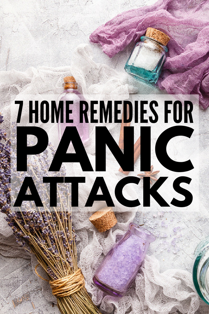 7 Home Remedies for Anxiety and Panic Attacks | From essential oils to simple relaxation techniques to deep breathing exercises to help you calm down, this collection of 7 tips to help relieve overwhelming stress and anxiety at home and at work is a must read for those in need of natural anxiety relief!