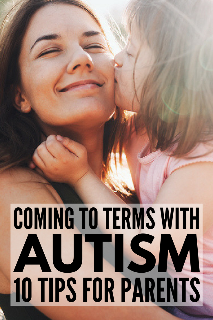 How to Cope with an Autism Diagnosis | Whether you recognized the signs of autism when your daughter was a toddler, or assumed your son would grow out of his developmental delays, an autism diagnosis is never easy to digest. We're sharing 10 tips to help parents, families, and caregivers come to terms with an ASD diagnosis as well as links to other helpful autism and SPD tips, products, strategies, and resources.