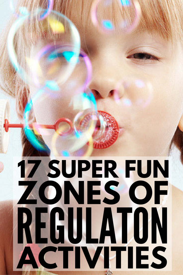 Self-Regulation in the Classroom: 17 Zones of Regulation Activities