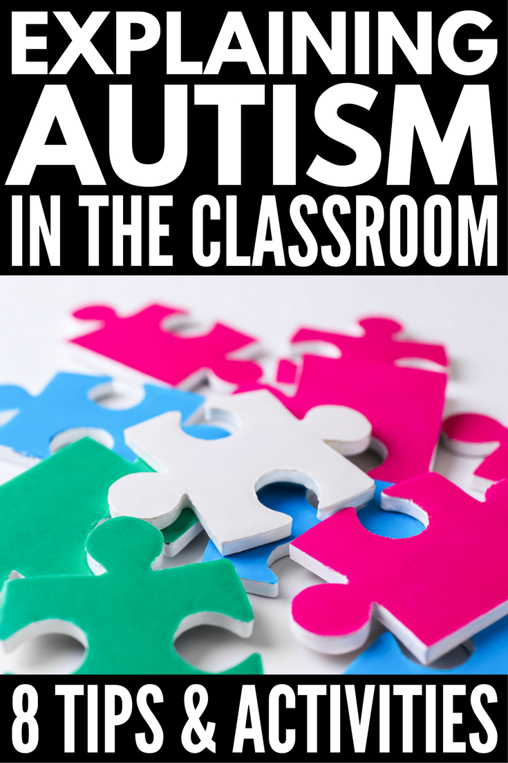 Explaining Autism to Children | If you have a child with autism or other special needs, this collection of 8 practical tips and activities to help teachers and parents teach autism to kids in schools and beyond is for you. With more and more children being diagnosed with ASD, it's important education begins in the classroom, and these ideas will help all students feel accepted despite their differences.