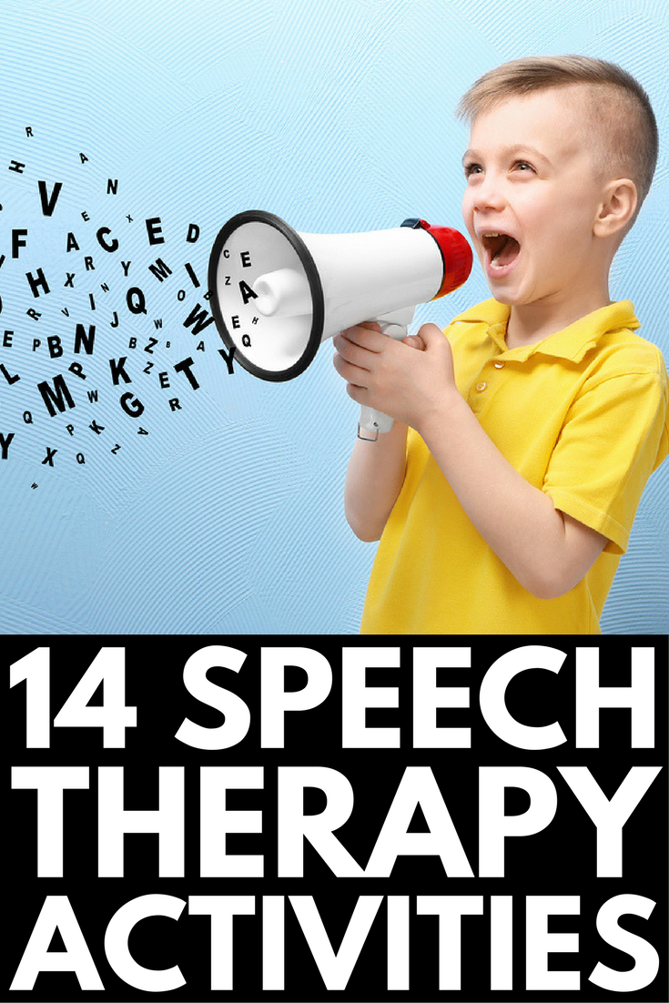 Speech Therapy Activities | Whether your child struggles with the articulation of certain letters and sounds, needs help with fluency, has difficulty with voice regulation, finds it challenging to understand and express himself throughout language, or has nonverbal autism, these speech therapy activities for toddlers, preschool, kindergarten, and elementary school offer a fun way to help kids at home and in the classroom!