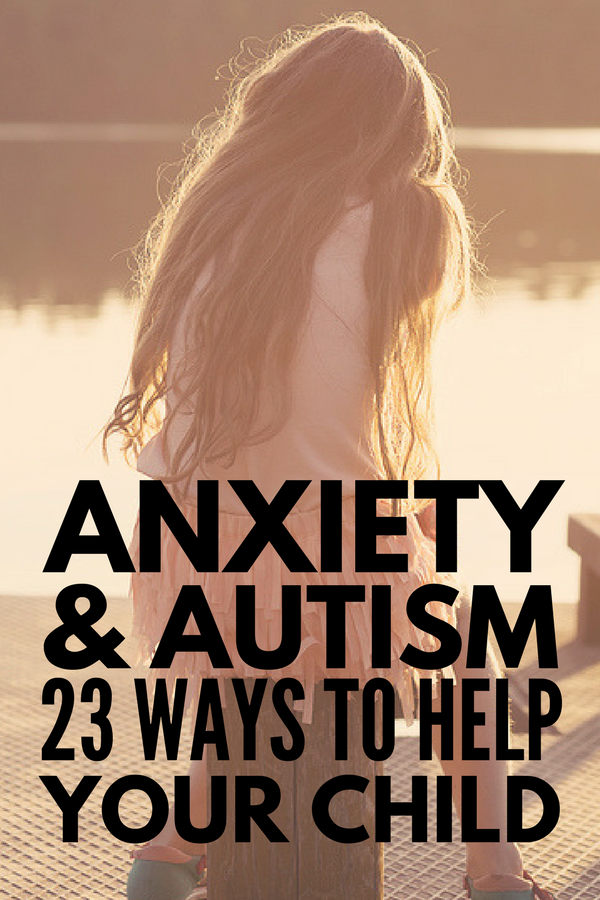 Anxiety and Autism | With over 23 coping strategies and anxiety activities for kids, we're sharing our best tips and strategies to help children with autism, sensory processing disorder, and other special needs deal with the feelings of anxiety, stress, and nervousness they often experience at home and in the classroom. These coping skills and play therapy ideas will help and inspire parents and teachers alike!
