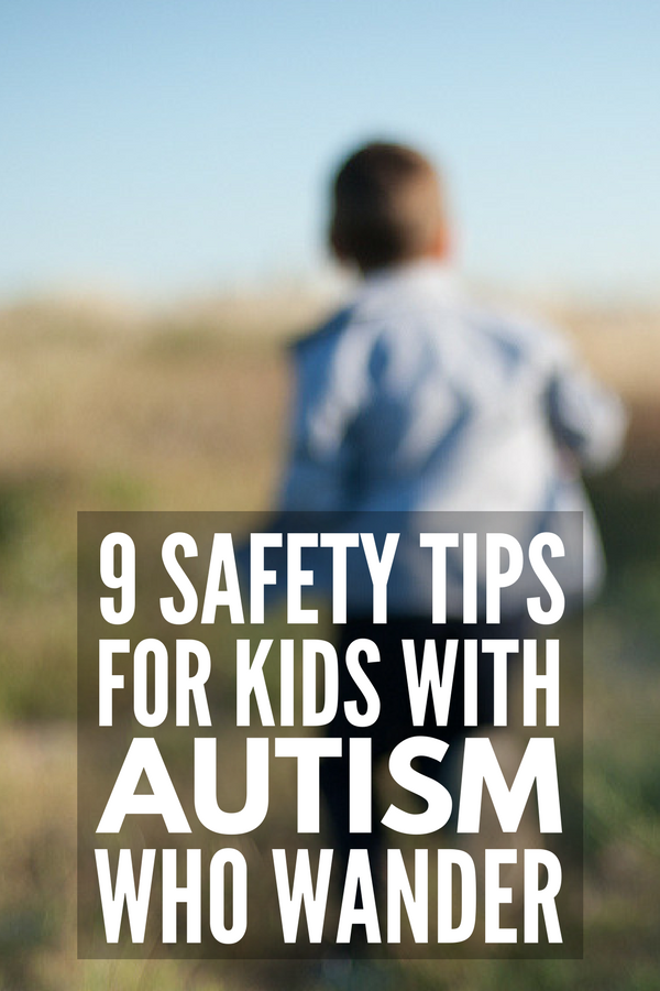 Autism and Wandering | If you're the parent or teacher of a child with autism who is a runner, wanderer, or who engages in other forms of elopement, you know all too well how stressful this can be. We're sharing 9 safety tips for kids with autism, as well as our favorite GPS tracker for kids with ASD.