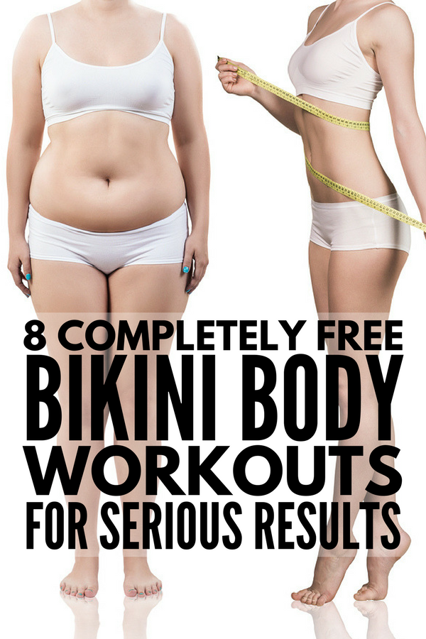8 Kayla Itsines Workouts for Serious Results | Looking for a bikini body workout and diet plan you can do at home or at the gym for FAST results? There are loads of results and transformation photos of how the BBG program has helped women lose weight and get in shape. Kayla's guide will teach you the basics, and we're sharing our favorite free abs, arms, legs, and core workout videos to add to your weekly workout schedule!