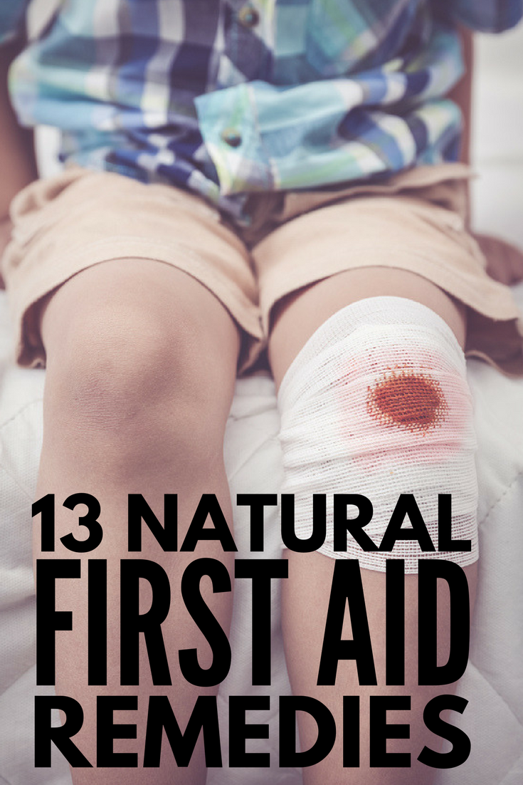 How to Make a Natural First Aid Kit | Want to create your very own DIY first aid kit for baby, school-aged kids, tweens, teens, and beyond but don't know what products to include? Perfect for travel and home, this collection of 13 essential herbs, oils, creams, and remedies will teach you the art of emergency preparedness using natural ingredients!