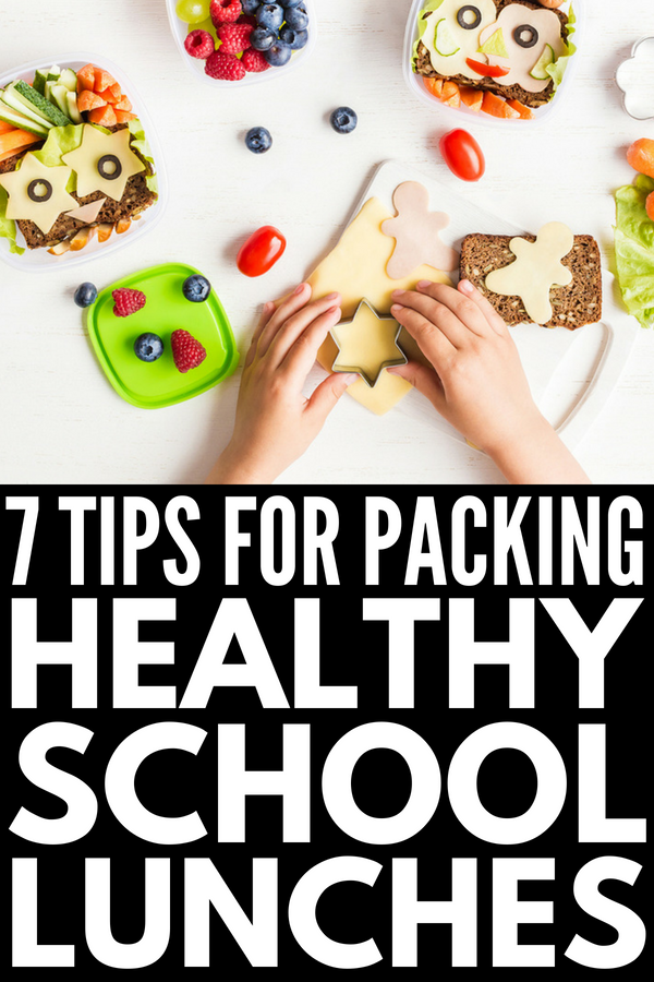 Healthy School Lunches for Picky Eaters | If you're looking for tips to help you pack school lunches for kids who refuse to eat anything nutritious, we're sharing 7 simple tips and over 40 fun bento box lunch ideas to inspire you to think outside the lunchbox and be creative! Who said kids meals need to be stressful?!