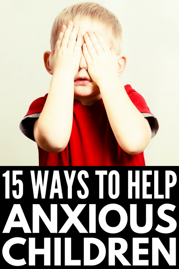 Anxiety in Children | Everything you need to know about the signs and symptoms of childhood anxiety (stomachaches, lack of sleep, school anxiety, etc.), the best parenting tips for mom and dad, and 7 coping skills and activities for kids with big worries. #anxiety #mentalhealth #kidstherapy #playtherapy