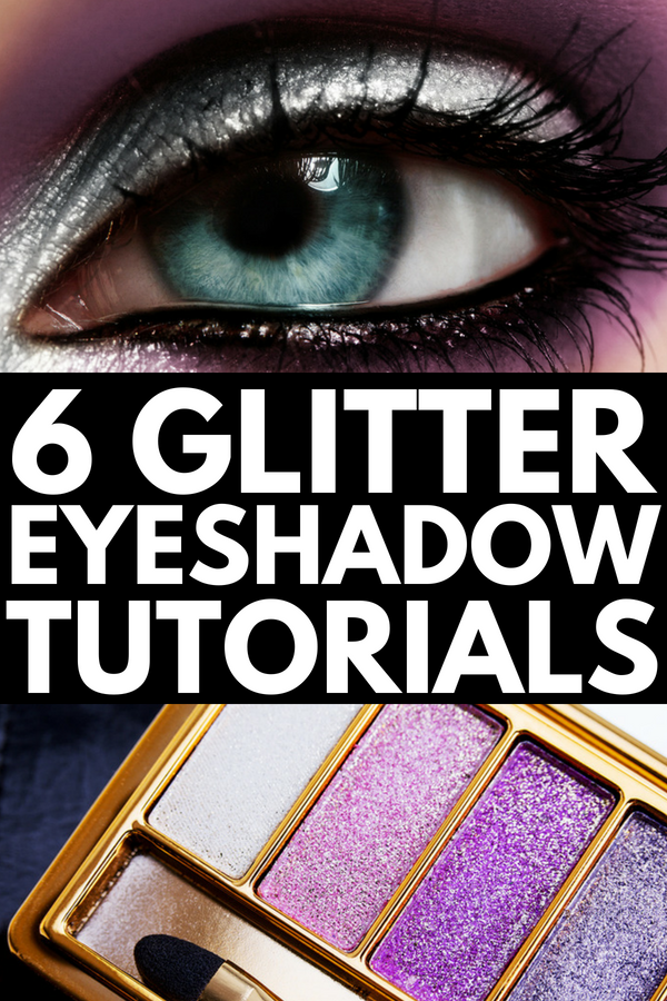 How to Apply Glitter Eyeshadow like a Pro | Glitter Glam 101! If you want to know how to use glitter eyeshadow to add SPARKLE to your look and make your eyes pop, we're sharing 5 of our best makeup tips and 6 step by step tutorials to teach you how. We've included our favorite glitter products (eyeshadows, eyeliners, and eyebrows, oh my!) as well as natural and dramatic looks you'll love.
